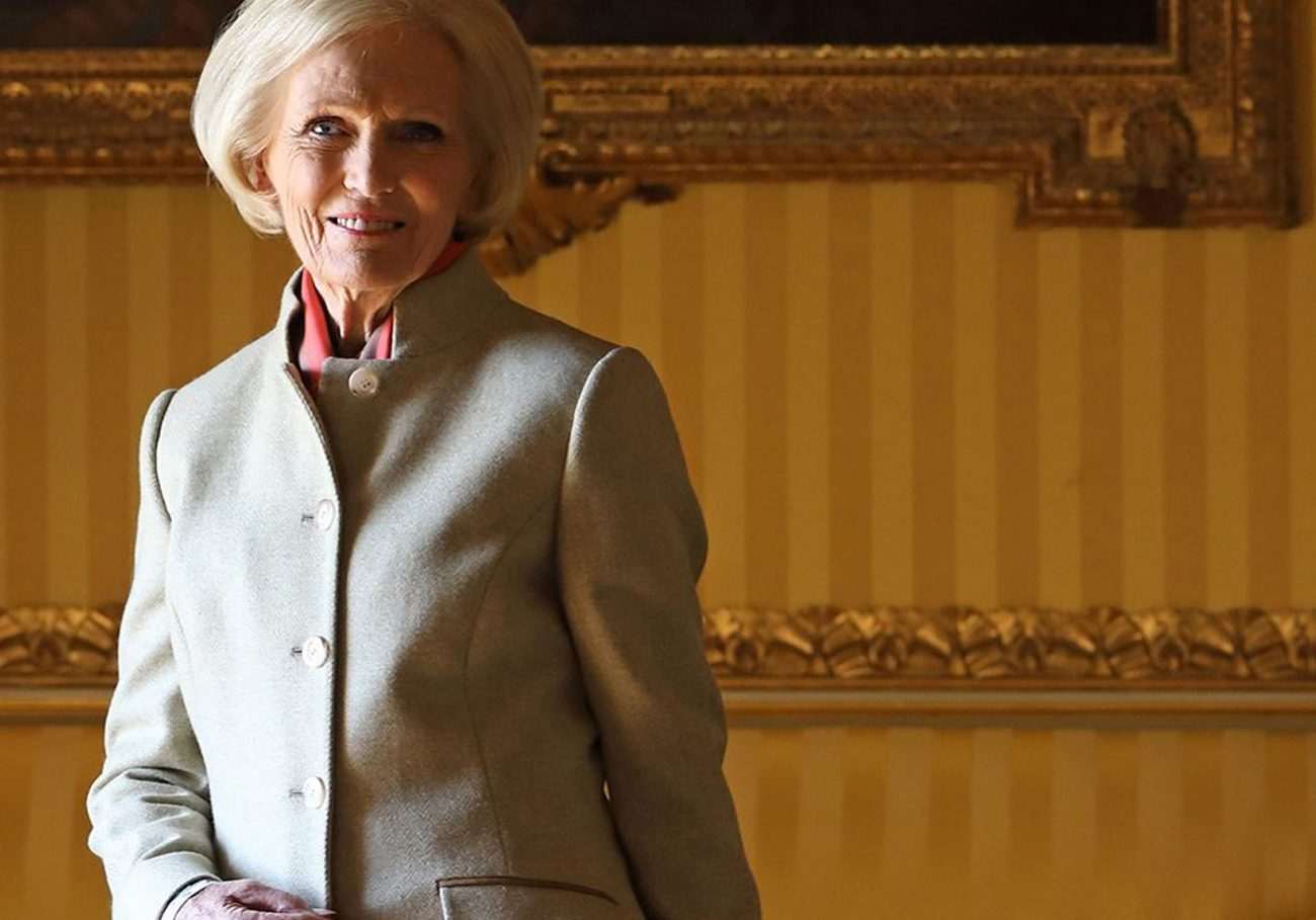 Programme Name: Mary Berry's Country House Secrets  - TX: n/a - Episode: n/a (No. Generics) - Picture Shows: Mary Berry at Goodwood house.  Mary Berry - (C) Shine TV Ltd - Photographer: Glenn Dearing